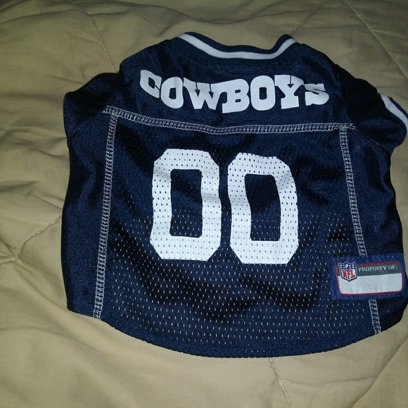 quality design b9cec d8332 Dallas Cowboys size small dog shirt